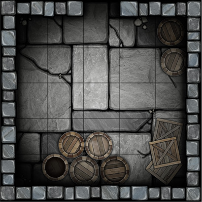 Dungeon Tiles Set for rpg game