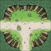 rpg forest tile